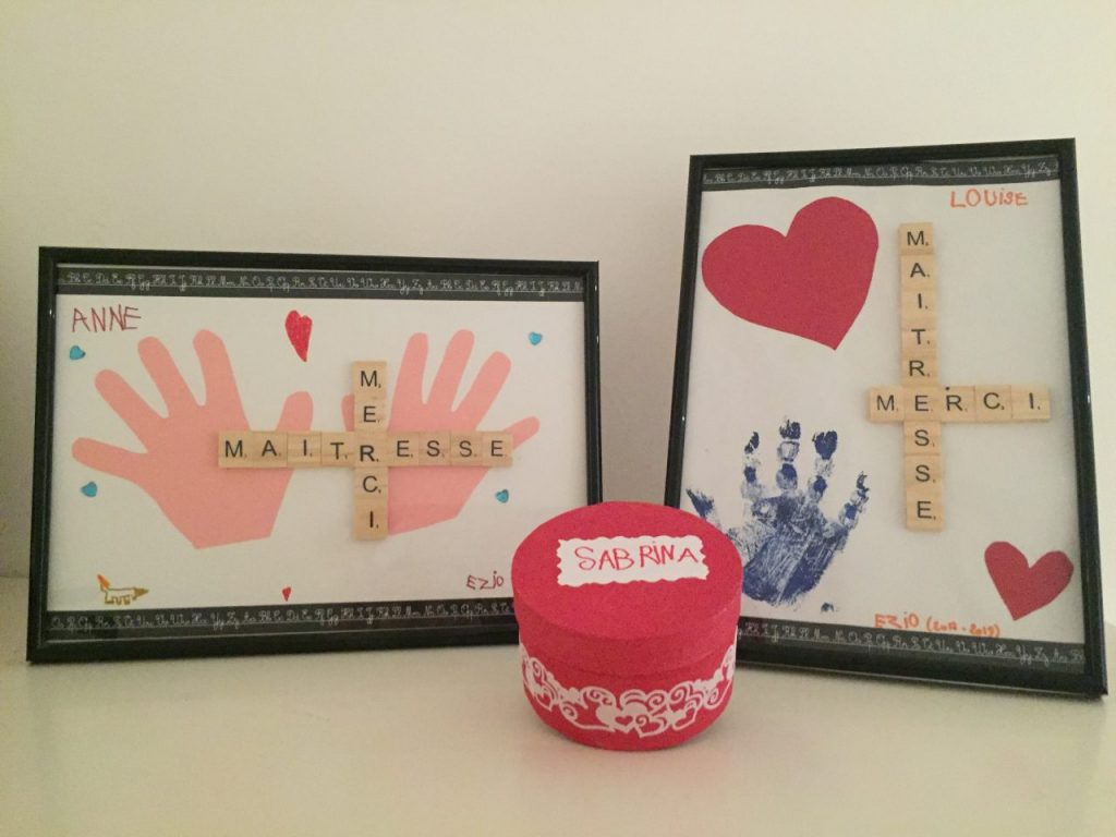 [DIY] Cadeaux pour les maîtresses et ATSEM