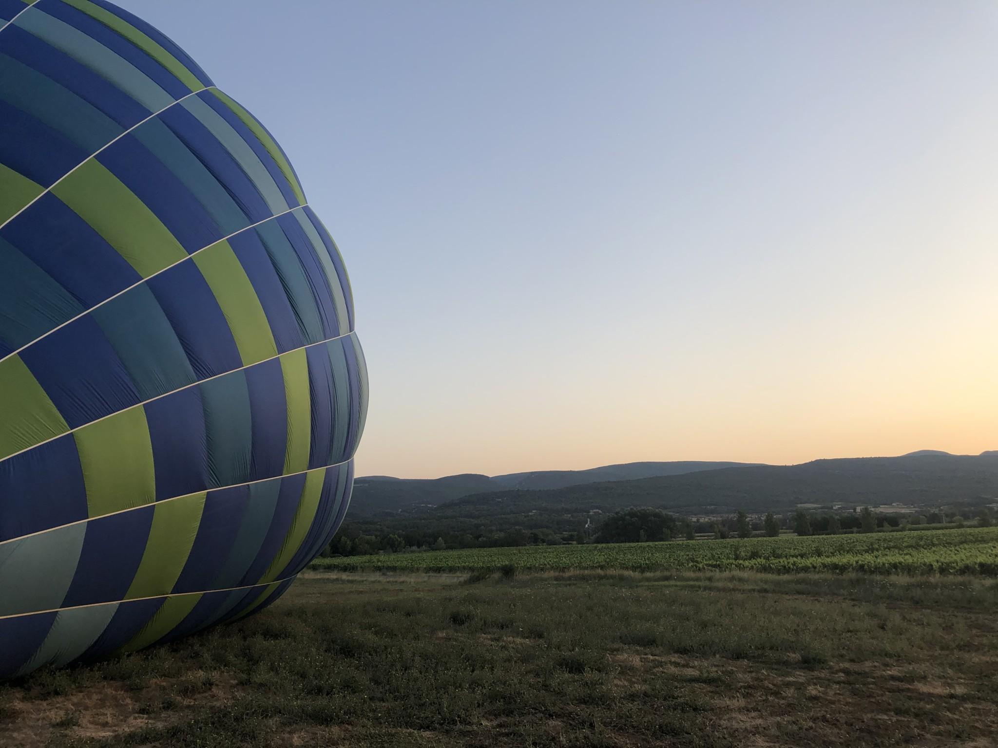 Mon vol en montgolfière avec Vol-terre